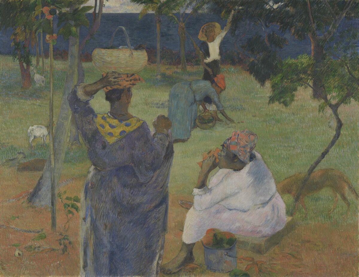 Paul Gauguin, The Mango Trees, Martinique, 1887. Courtesy of the Van Gogh Museum, Amsterdam.