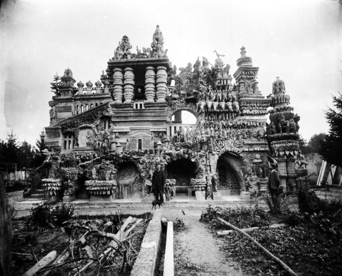 Palais Idéal, 1890. Via Wikimedia Commons.