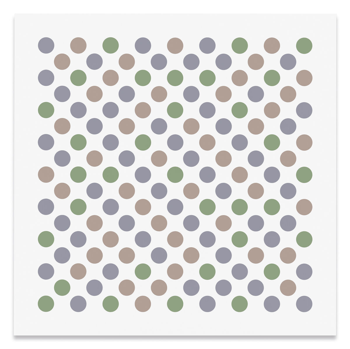 Bridget Riley, Measure for Measure 25, 2018. Courtesy of Sprüth Magers.