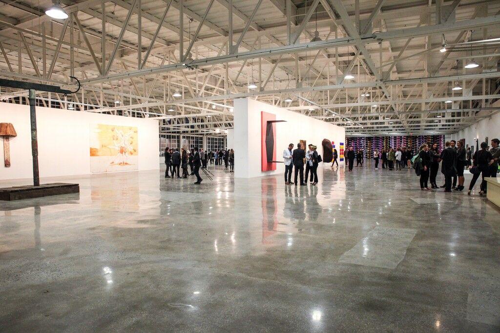 """Installation view of""""Mana Exposition"""" at Mana Contemporary.Courtesy Mana Contemporary."""
