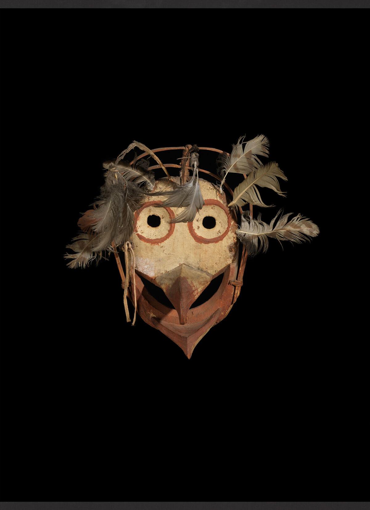 Yup'ik, Mask, late 19th century. Courtesy of Donald Ellis Gallery.