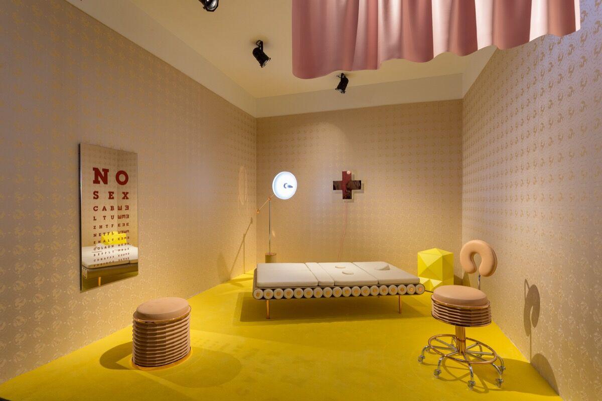 Installation view of Patricia Findlay's booth at Design Miami/, 2016. Photo by Alain Almiñana for Artsy.