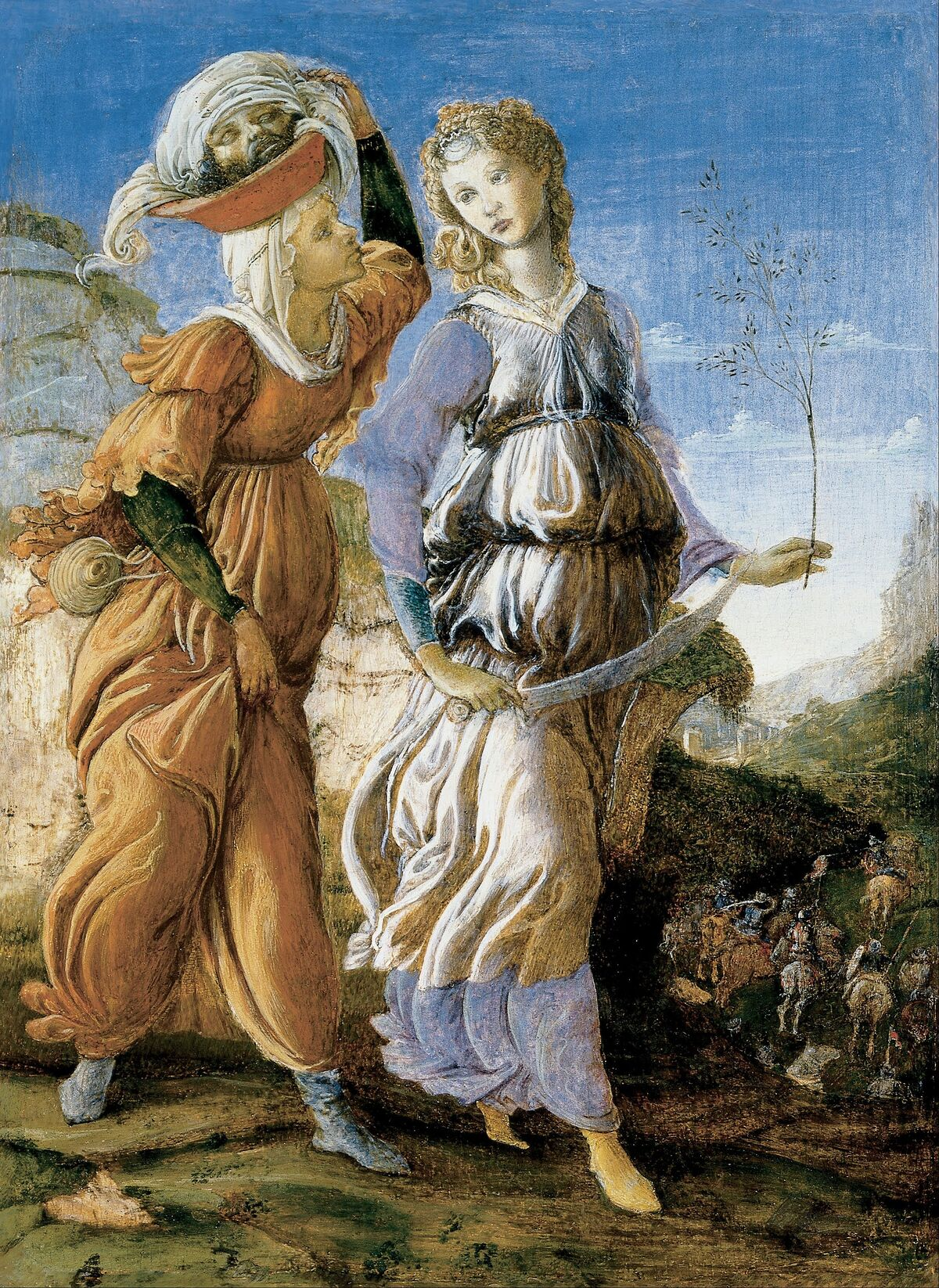 Botticelli,  Judith with the Head of Holofernes,  ca. 1470. Image via Wikimedia Commons.