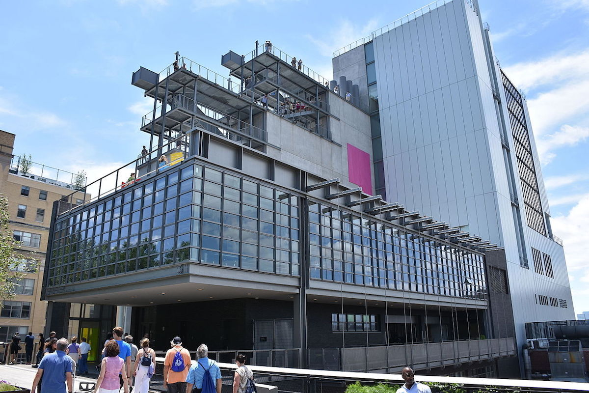 The Whitney Museum of American Art. Photo by MusikAnimal, via Wikimedia Commons.