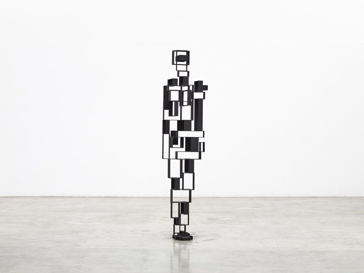 Antony Gormley, OPEN INTROVERT IV, 2018. Courtesy of the artist and Galerie Thaddaeus Ropac.