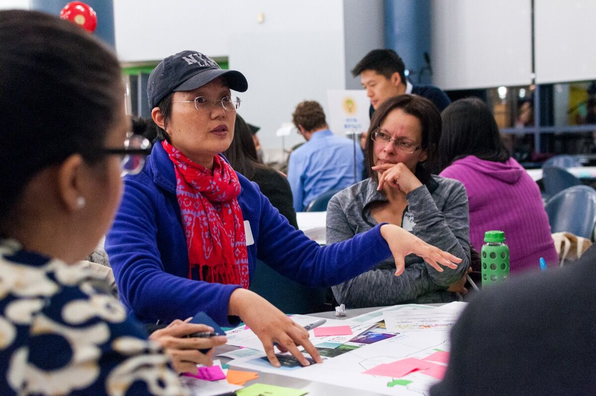 Queens Borough-Wide Workshop. Image courtesy of Hester Street Collaborative and Create NYC.