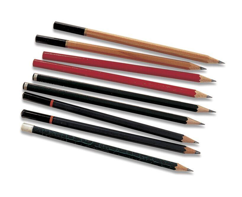 Graphite pencils. © 2019 IMM Lifestyle Books. Courtesy of Fox Chapel Publishers.