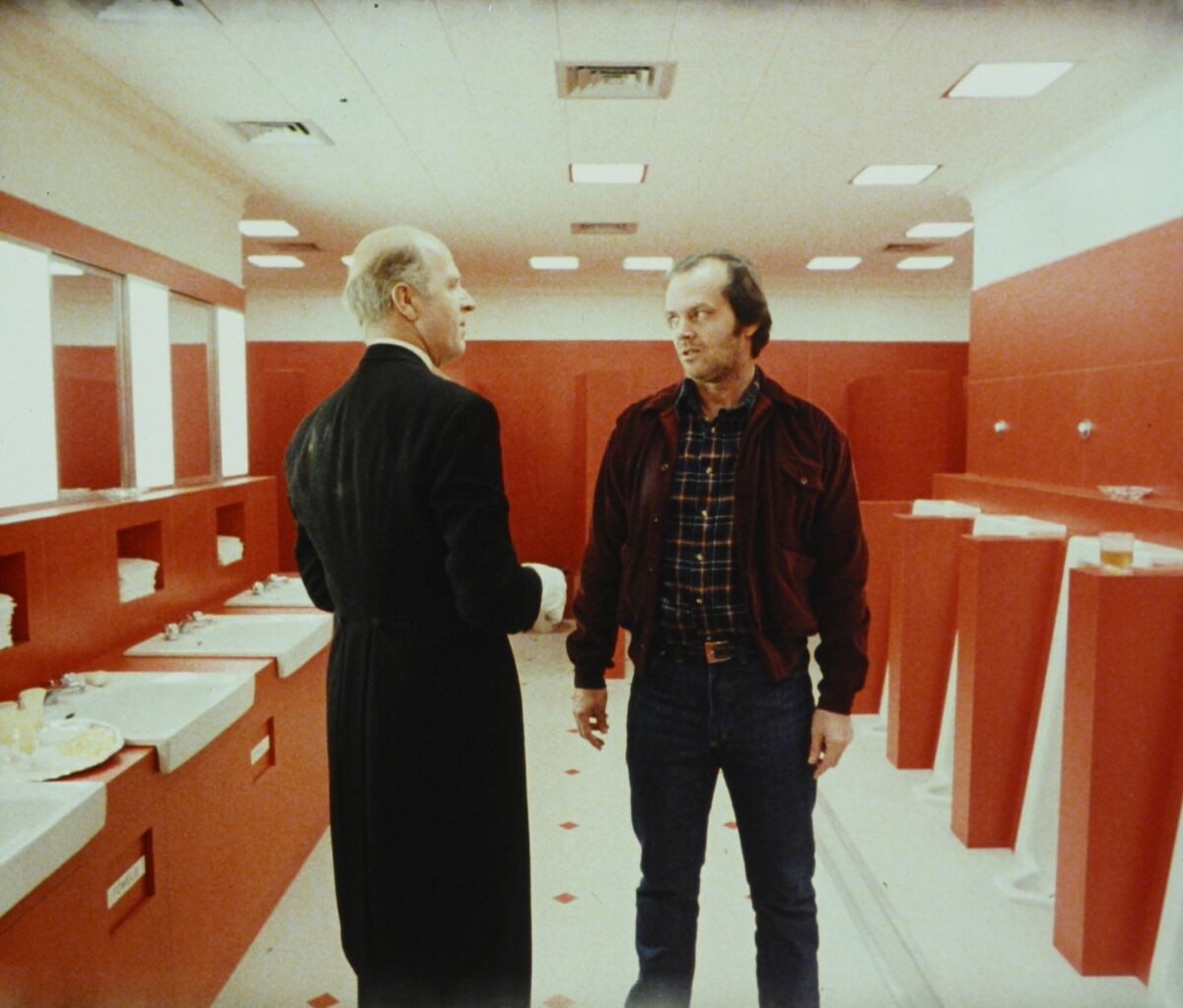 Still from The Shining. Courtesy of London's Design Museum.