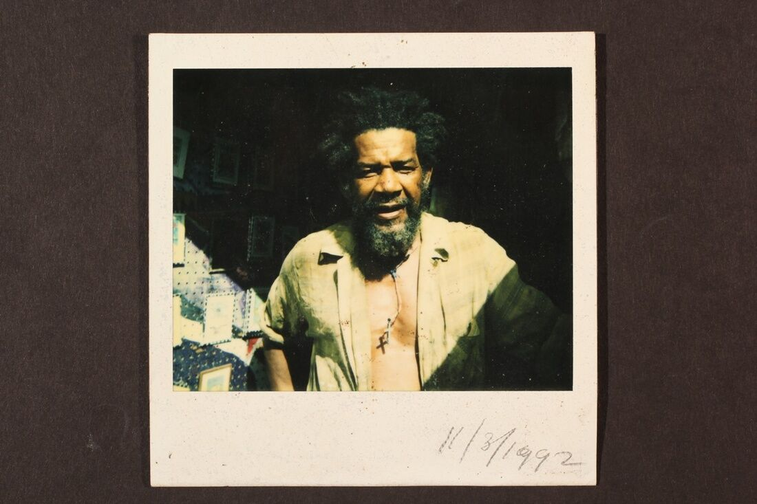 Frank Walter, Polaroid Photograph, 1992. Photo by Kenneth M. Milton Fine Arts Conservation. Courtesy of the Estate of Frank Walter, 2017.