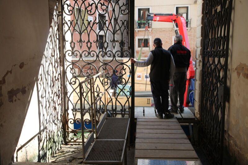 View ofMuseo di Palazzo Grimani, Venice. Courtesy Sundaram Tagore Gallery.