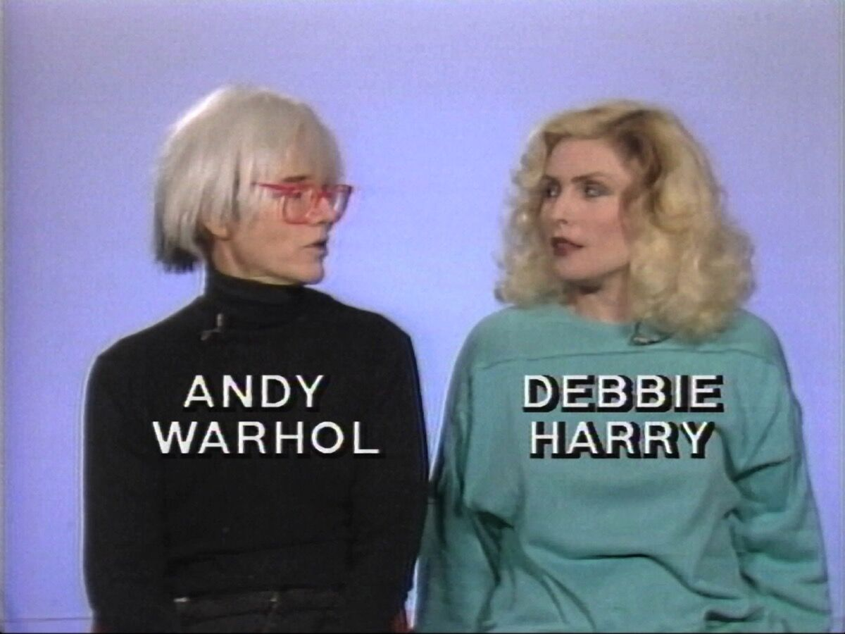 """Andy Warhol, Andy Warhol's Fifteen Minutes [episode 1], 1986. 1"""" videotape, color, sound, 30 minutes. ©2017 The Andy Warhol Museum, Pittsburgh, PA, a museum of Carnegie Institute. All rights reserved."""