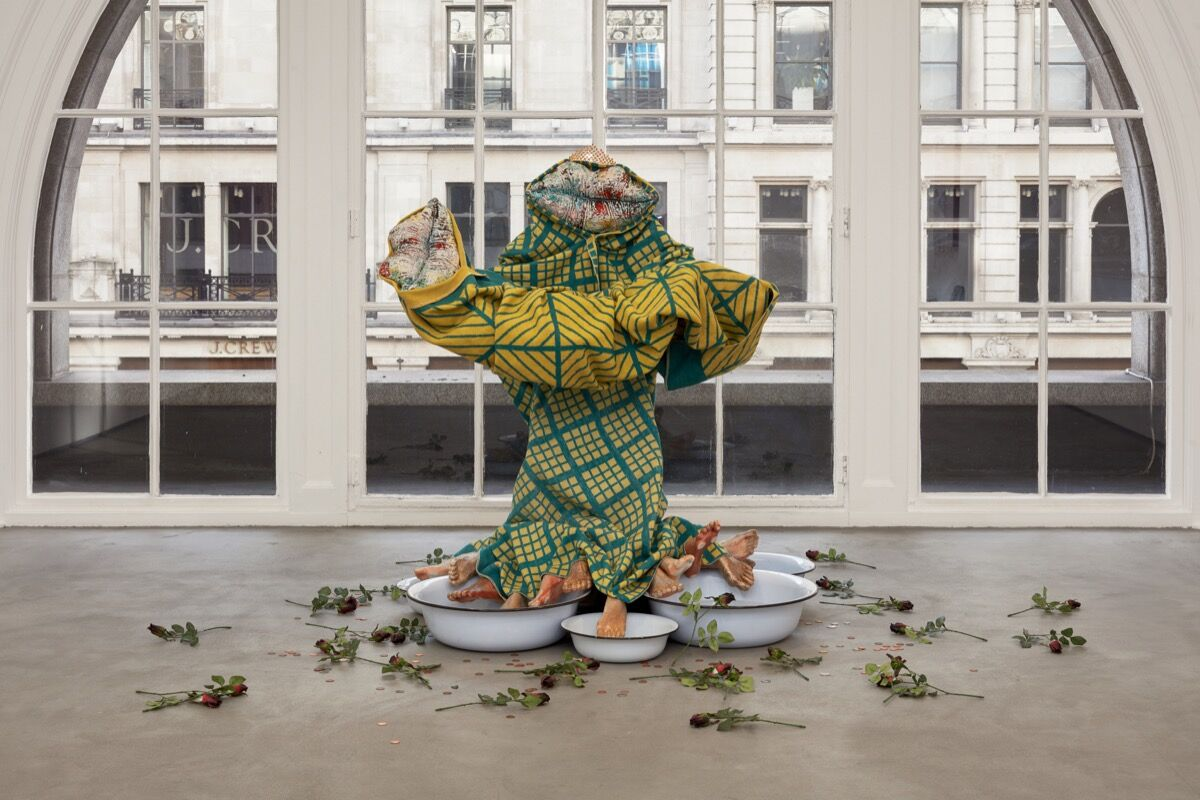 Kris Lemsalu, Mysteriously conceived and deeply felt, 2018. Photo by Robert Glowacki. Courtesy of the artist, Temnikova & Kasela Gallery, and Koppe Astner Gallery.