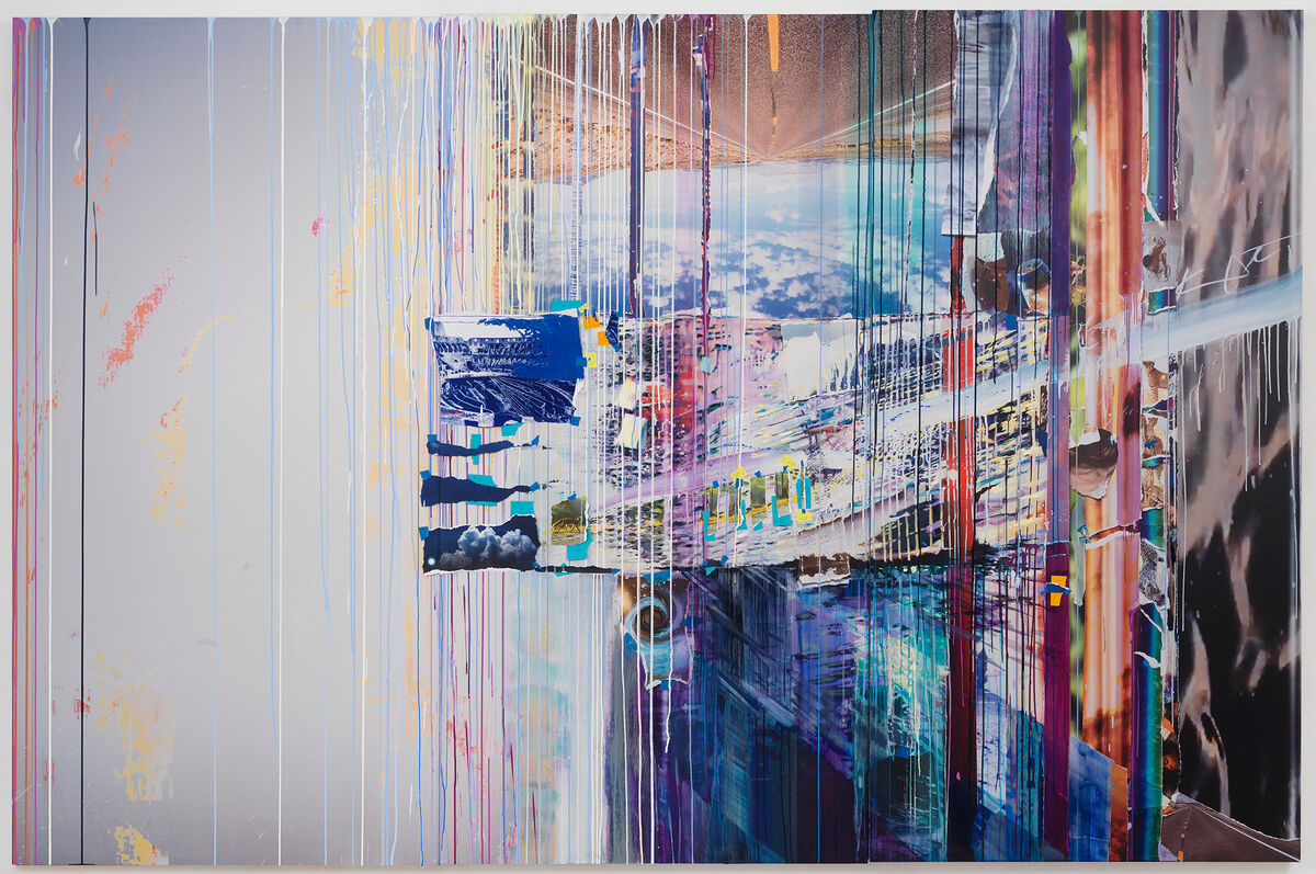 Sarah Sze, Picture Perfect (Times Zero), 2020. © Sarah Sze. Photo by Rob McKeever. Courtesy of Gagosian.