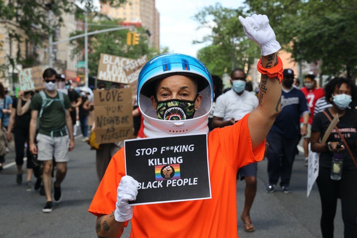 Lola Flash, Black Lives Matter, 2020. Courtesy of the artist.