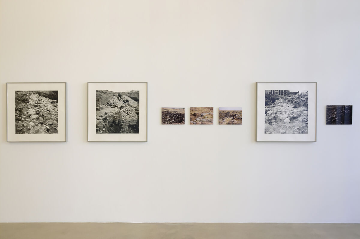 """Installation view of """"Radical Grounds"""" at Marfa' Projects, 2020. Courtesy of Marfa' Projects."""