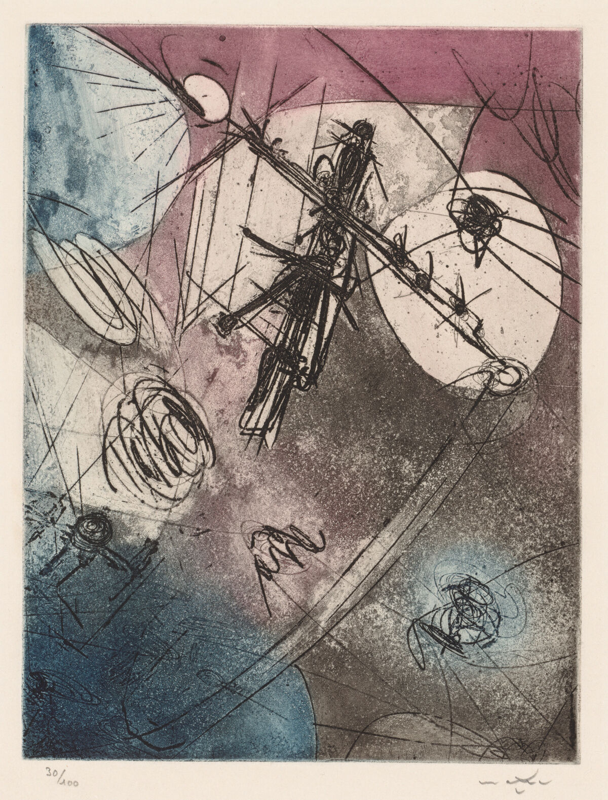 Roberto Matta, Castronautes, 1965. © Artists Rights Society (ARS), New York. Courtesy of The Cleveland Museum of Art.