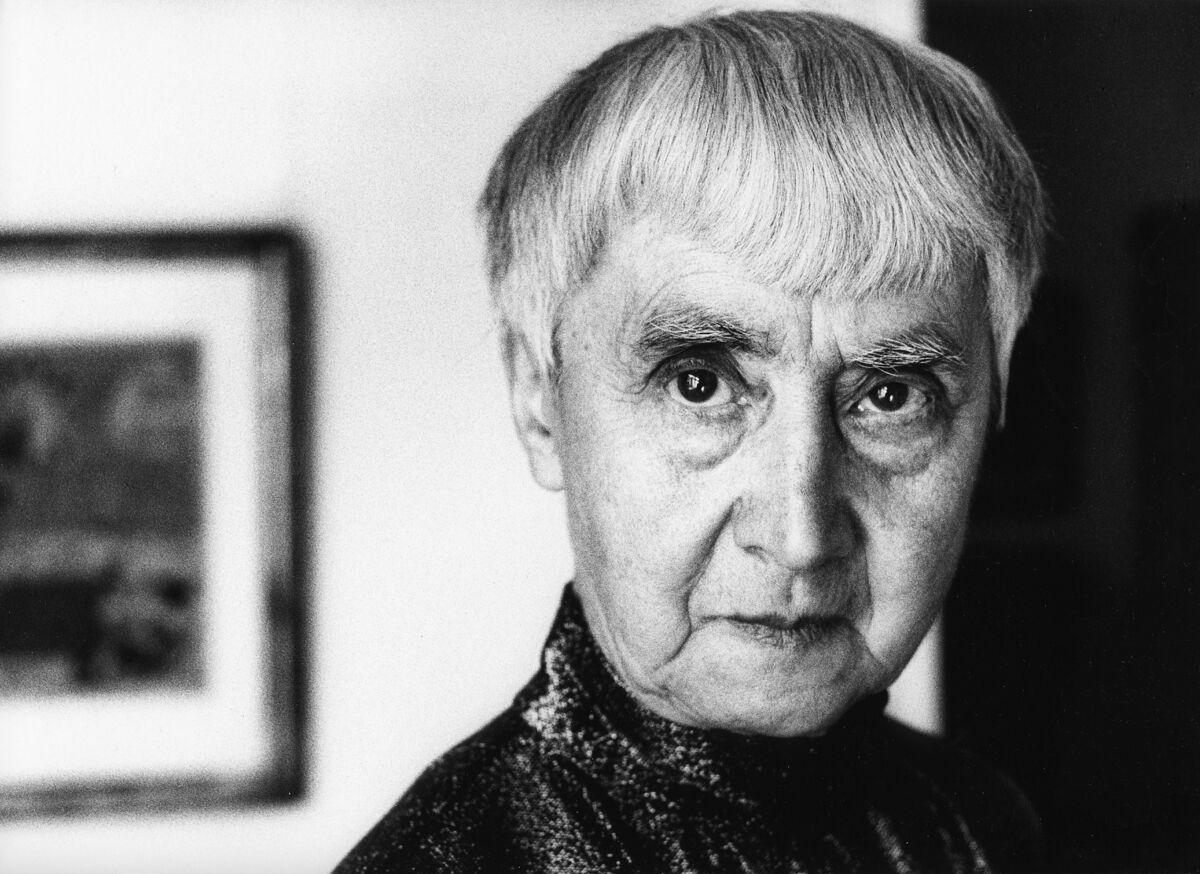 Portrait of Hannah Höch, ca. 1970. Photo by Zemann/ullstein bild via Getty Images.