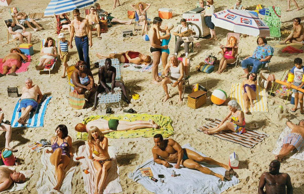 Alex Prager, Crowd #3, from the book Silver Lake Drive, 2013. Published by Chronicle Books.