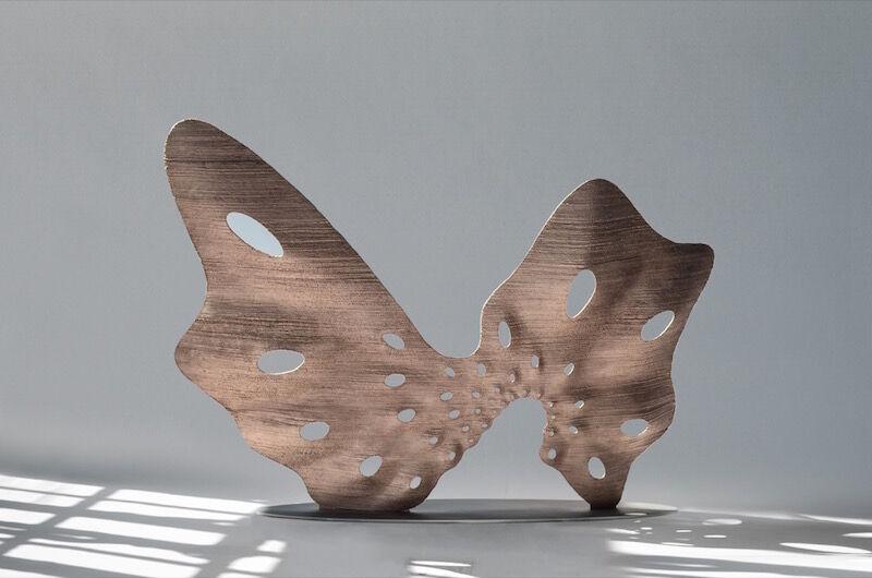 Joris Laarman, Butterfly Screen, 2016. Photo courtesy of Friedman Benda.