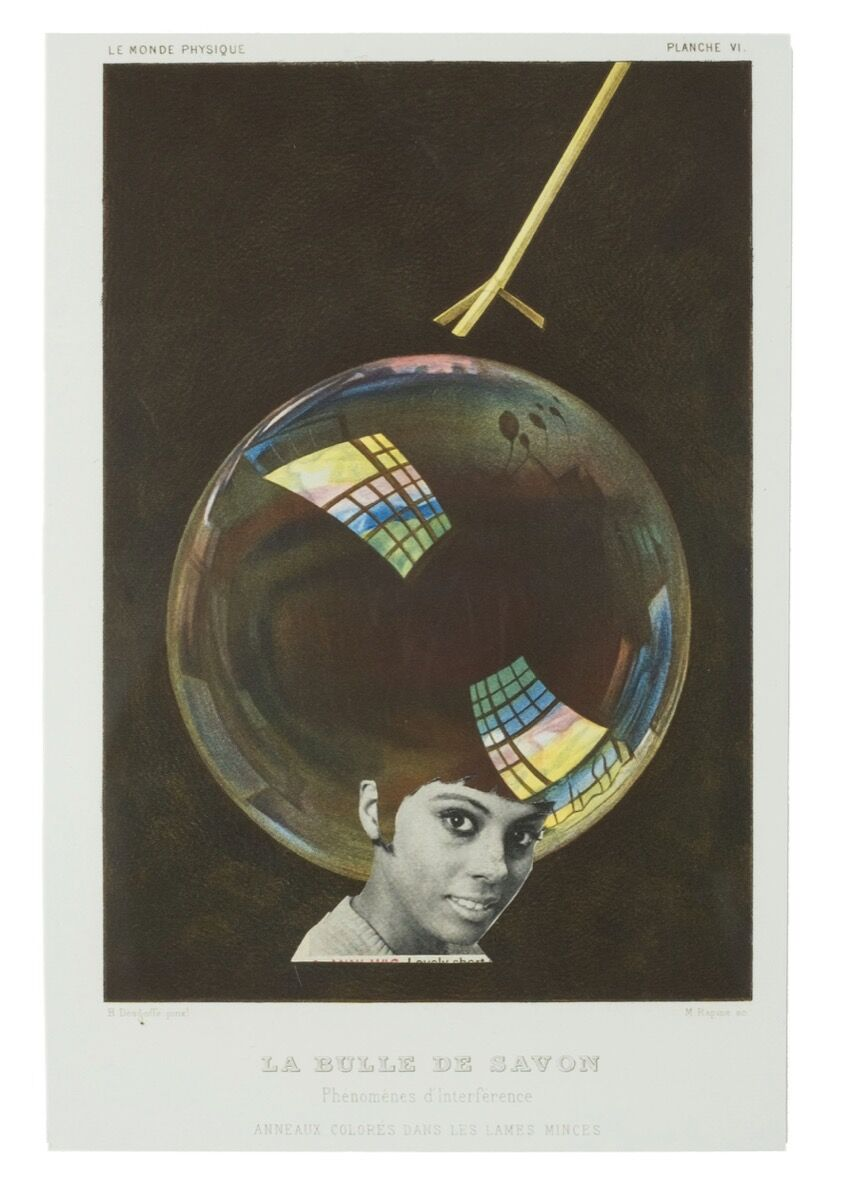 Lorna Simpson, Earth & Sky, #30, 2016. Published by Chronicle Books, 2018.