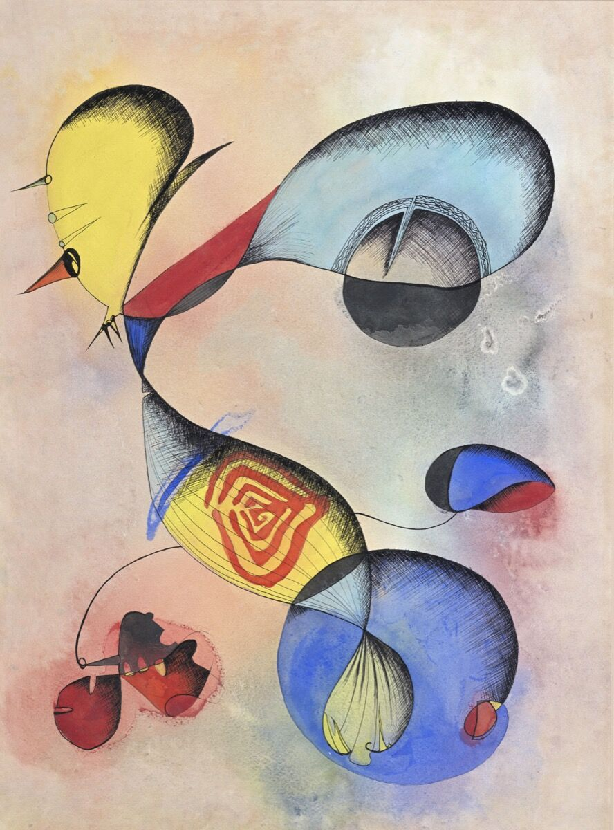 Ithell Colquhoun, Untitled. © Tate. Courtesy of the Tate.