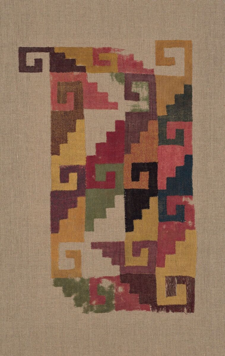 Panel Fragment , 200–500. Courtesy of The Art Institute of Chicago.