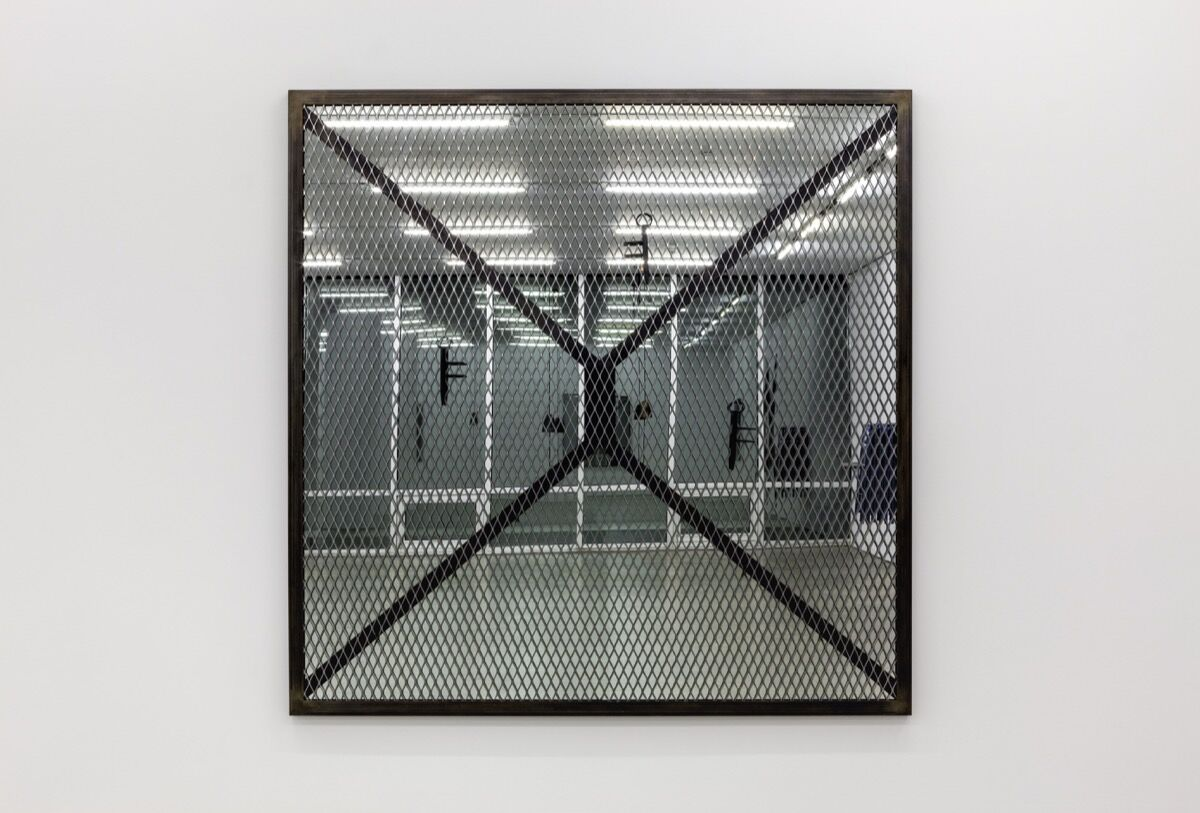 """Davina Semo, """"THEY'VE BECOME COMFORTABLE WITH THEIR MONEY,"""" SHE SAID, """"THEY GENUINELY BELIEVE THEY'RE ENTITLED TO IT,"""" 2016. Courtesy of the artist and Marlborough Contemporary, New York and London."""