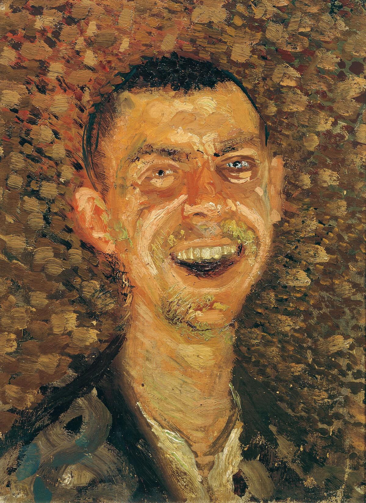 Gerstl, Self-Portrait, Laughing.