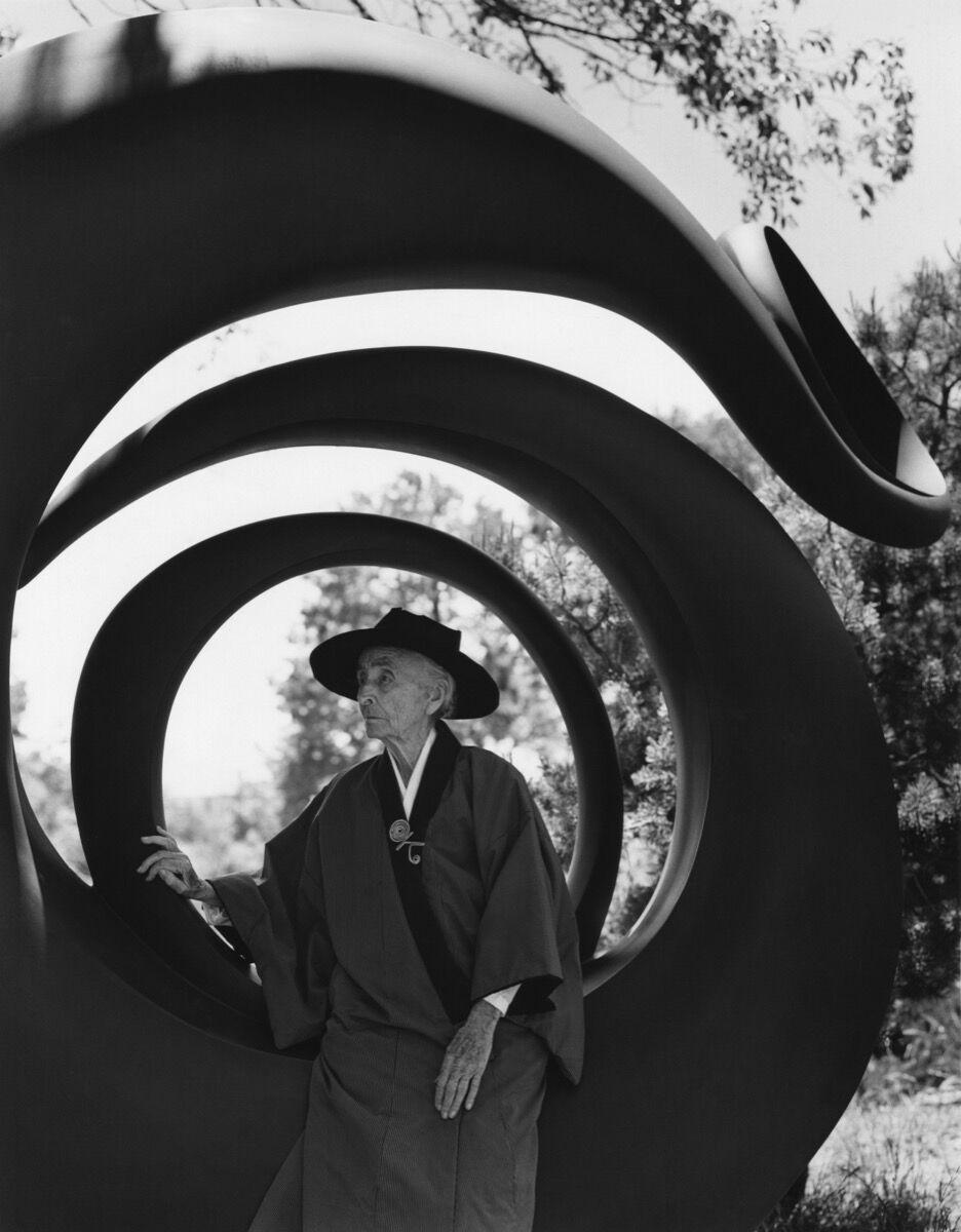 Bruce Weber, Georgia O'Keeffe, Abiquiu, N.M., 1984. © Bruce Weber.