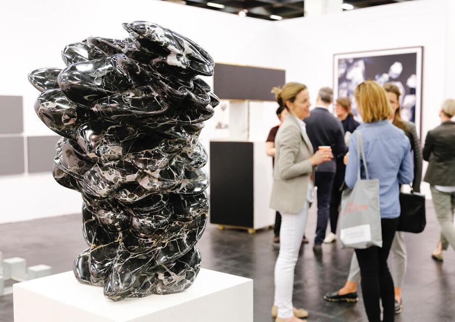 KonradFischerGalerie at Art Cologne 2015. Photo: © Koelnmesse.