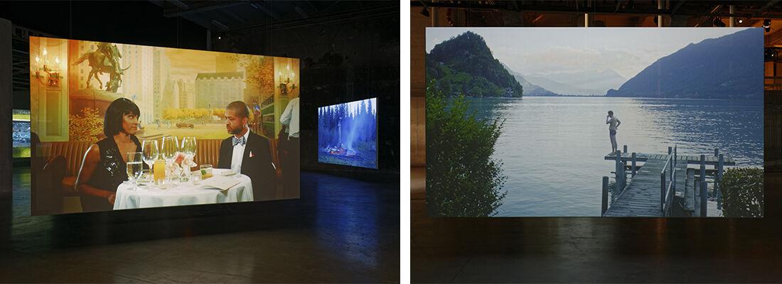"""Ragnar Kjartansson, Scenes From Western Culture (2015),onview at""""Seul Celui qui Connaît le Désir,""""Palais de Tokyo, Paris, 2015. Photo byAurélien Mole, courtesy of the artist,Luhring Augustine, and i8 Gallery."""