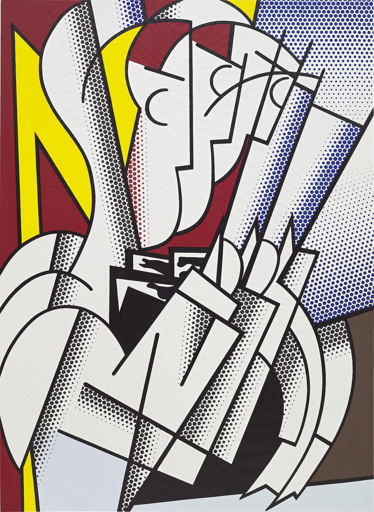 Roy Lichtenstein, The Conductor, 1975. Courtesy Phillips.