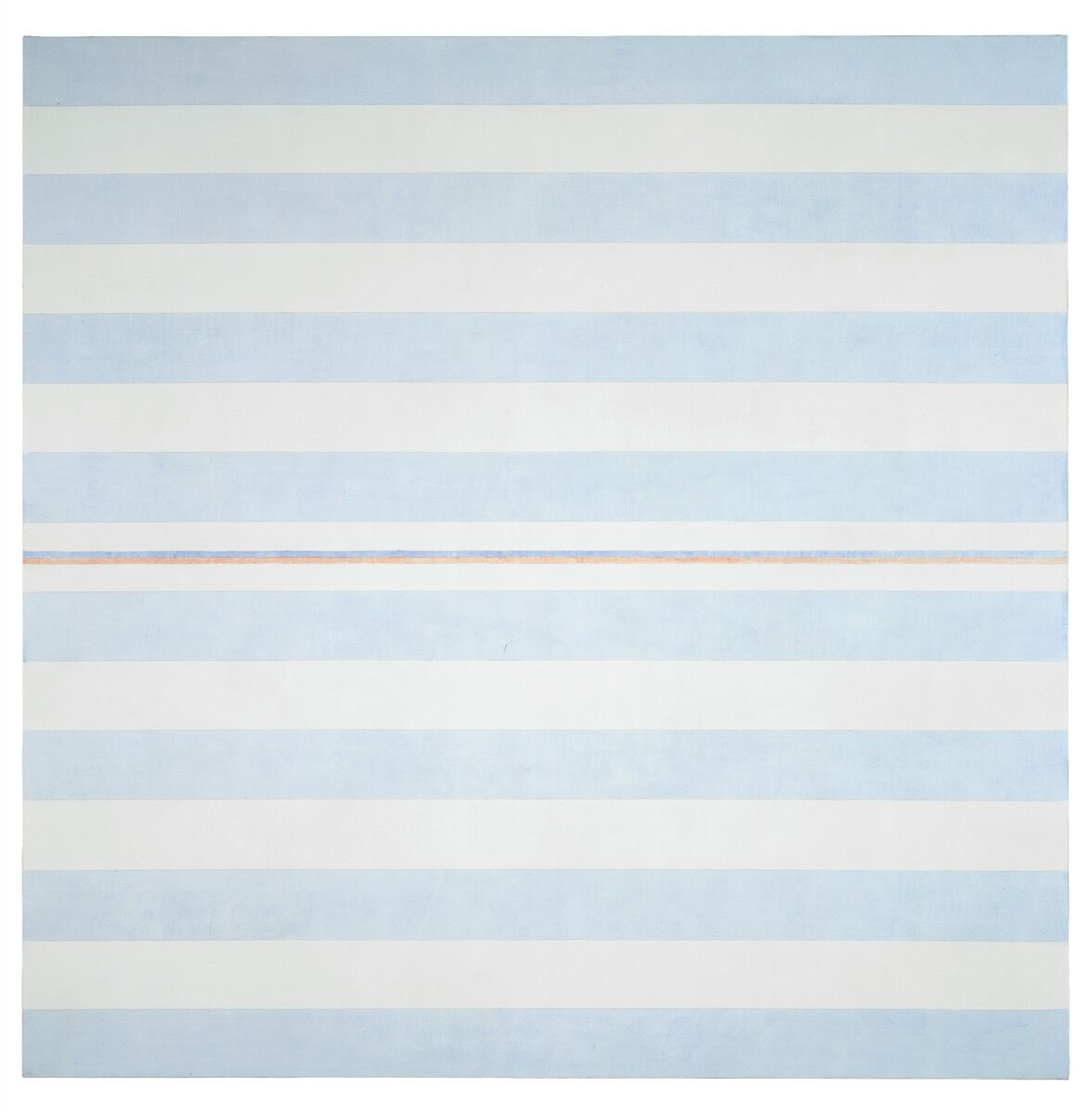 Agnes Martin, Blessings, 2000. © 2018 Estate of Agnes Martin / Artists Rights Society (ARS), New York. Courtesy of Pace.