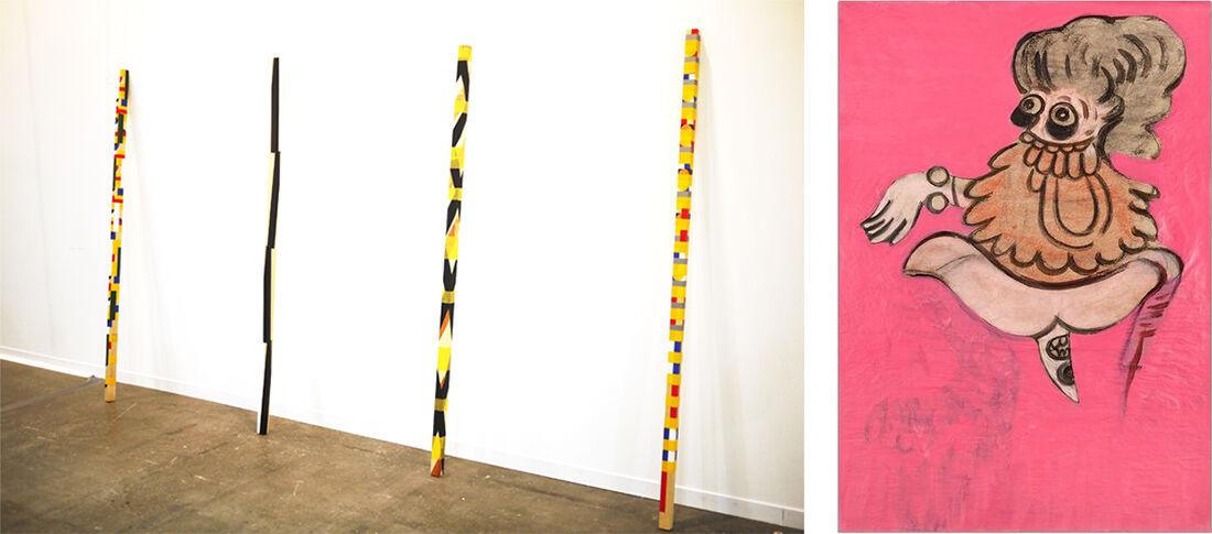 "Installation views ofKurimanzutto's booth at ZsONA MACO 2016; Daniel Guzman,Untitled, from the series ""Chromosome Damage,"" 2015. Courtesy Kurimanzutto."