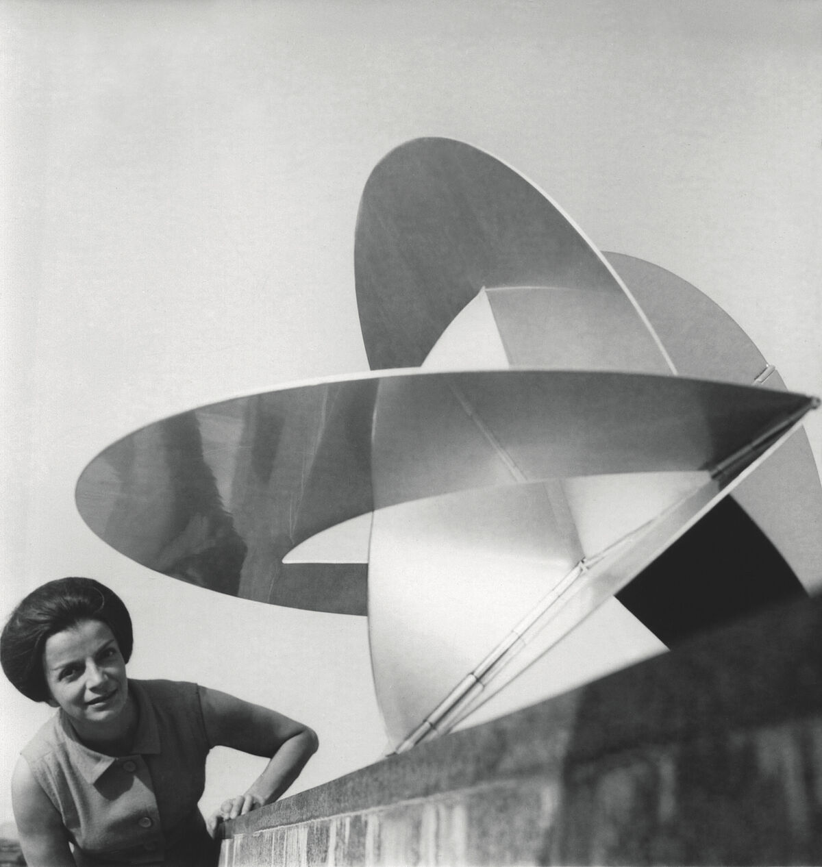 "Portrait of Lygia Clark, 1960s. © ""The World of Lygia Clark"" Cultural Association. Courtesy of ""The World of Lygia Clark"" Cultural Association."