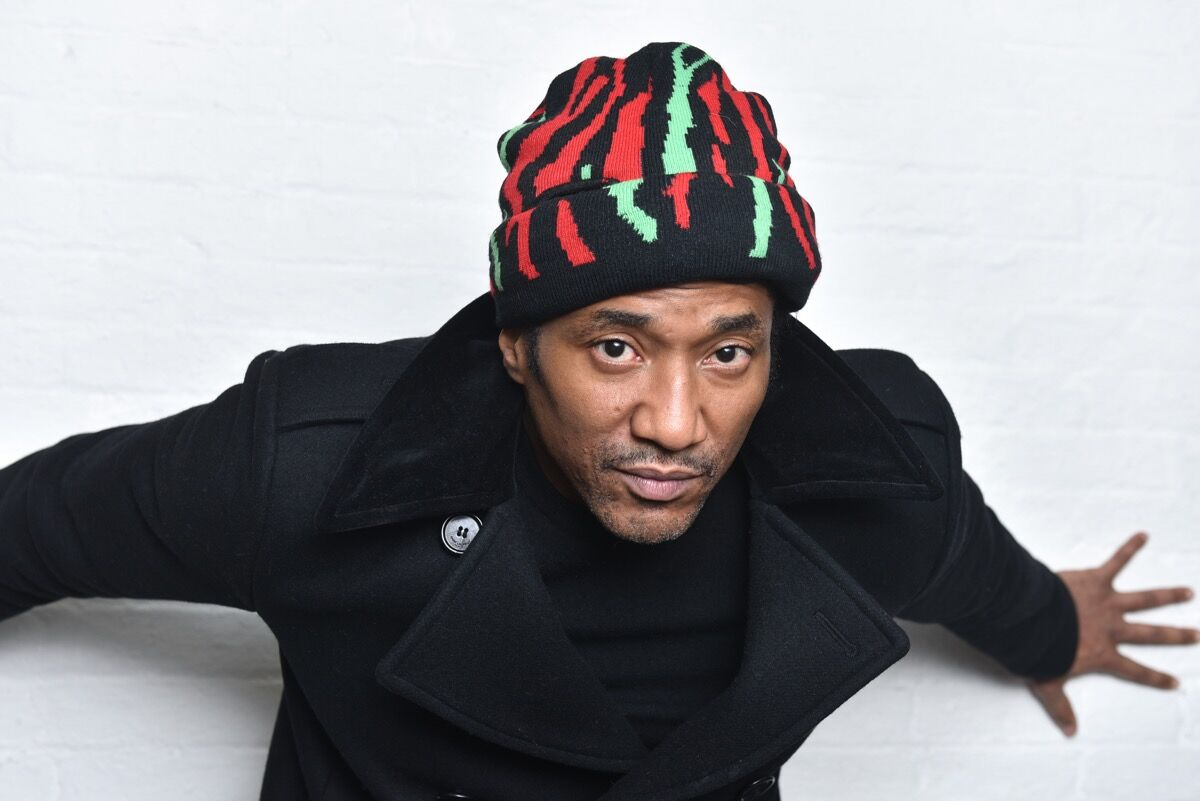 Q-Tip at theWe Got It From Here... album premiere event for A Tribe Called Quest at MoMA PS.1, New York, 2016. Photo by Jared Siskin/Patrick McMullan via Getty Images.