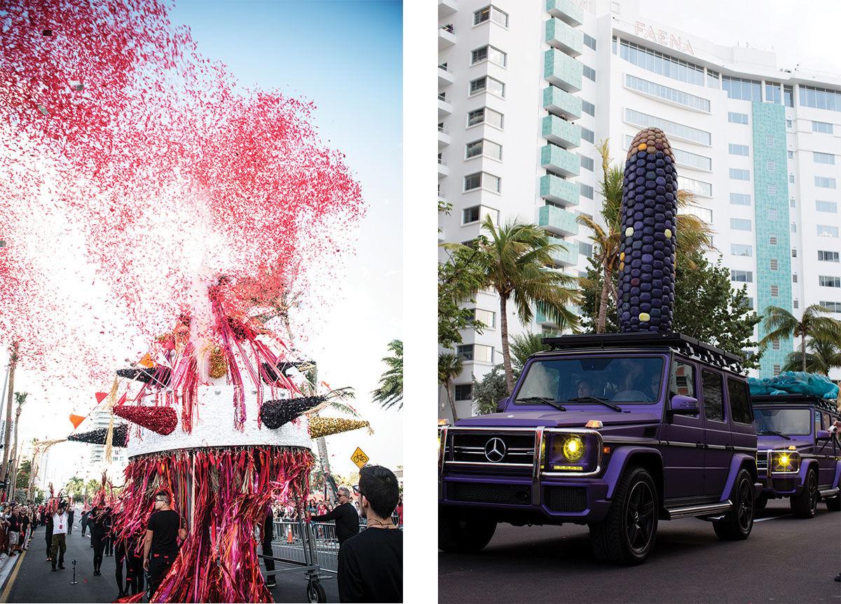 Left: Photo by Jorge Mina. Right: Photo by Gato Suaya.Courtesy of Faena Arts.