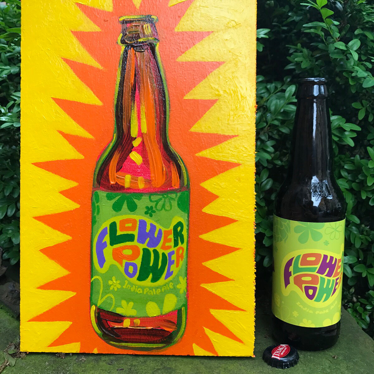 Tom Sanford, 77 - Flower Power India Pale Ale (USA), 2017. Courtesy of the artist.