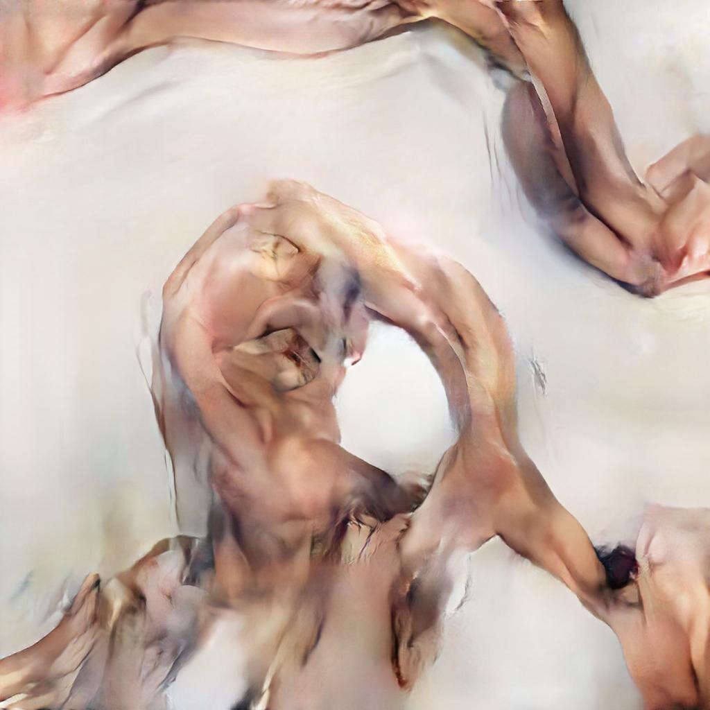 Detail of Mario Klingemann, Chicken or Meat? Series 1, 2018. Courtesy of the artist.