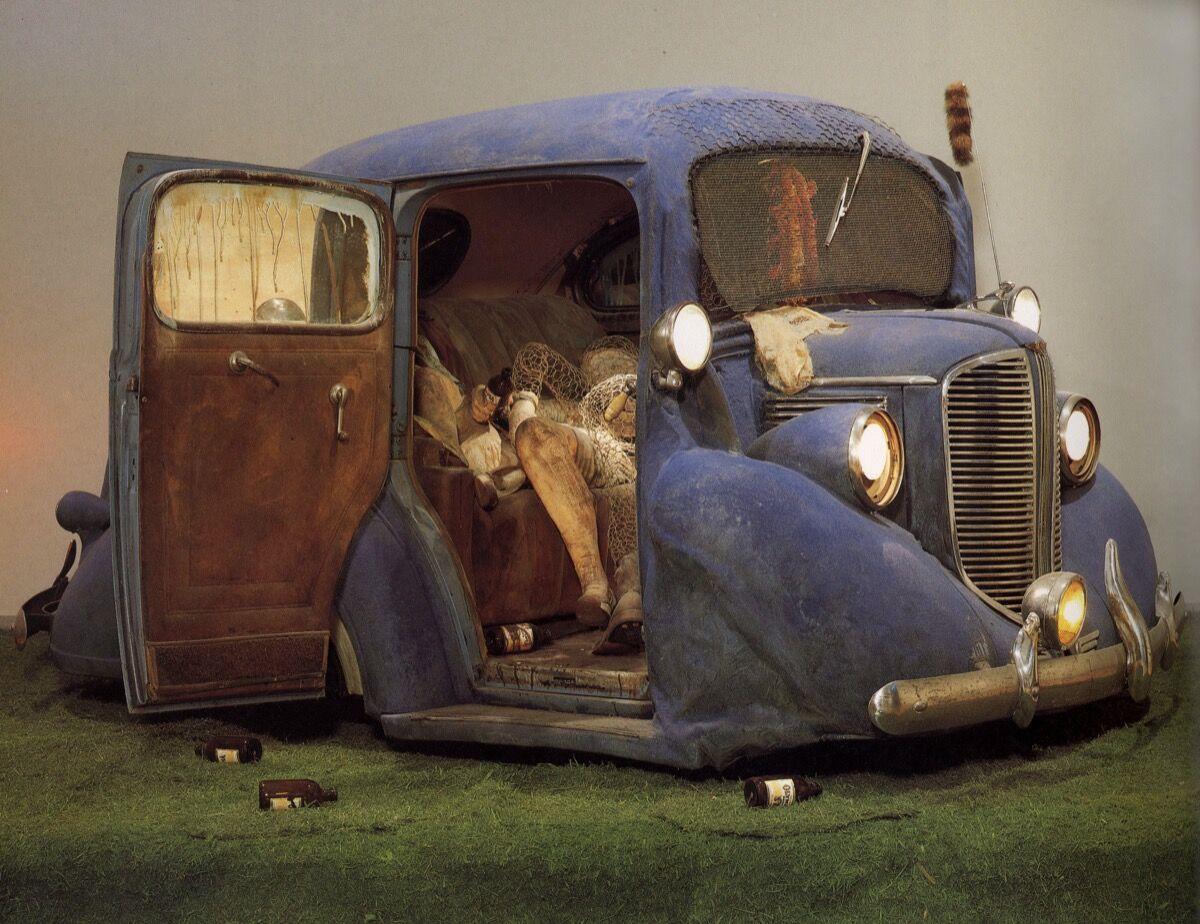 Edward Kienholz, Back Seat Dodge '38, 1964. © Estate of Nancy Reddin Kienholz. Courtesy of L.A. Louver and Collection of Los Angeles County Museum of Art.