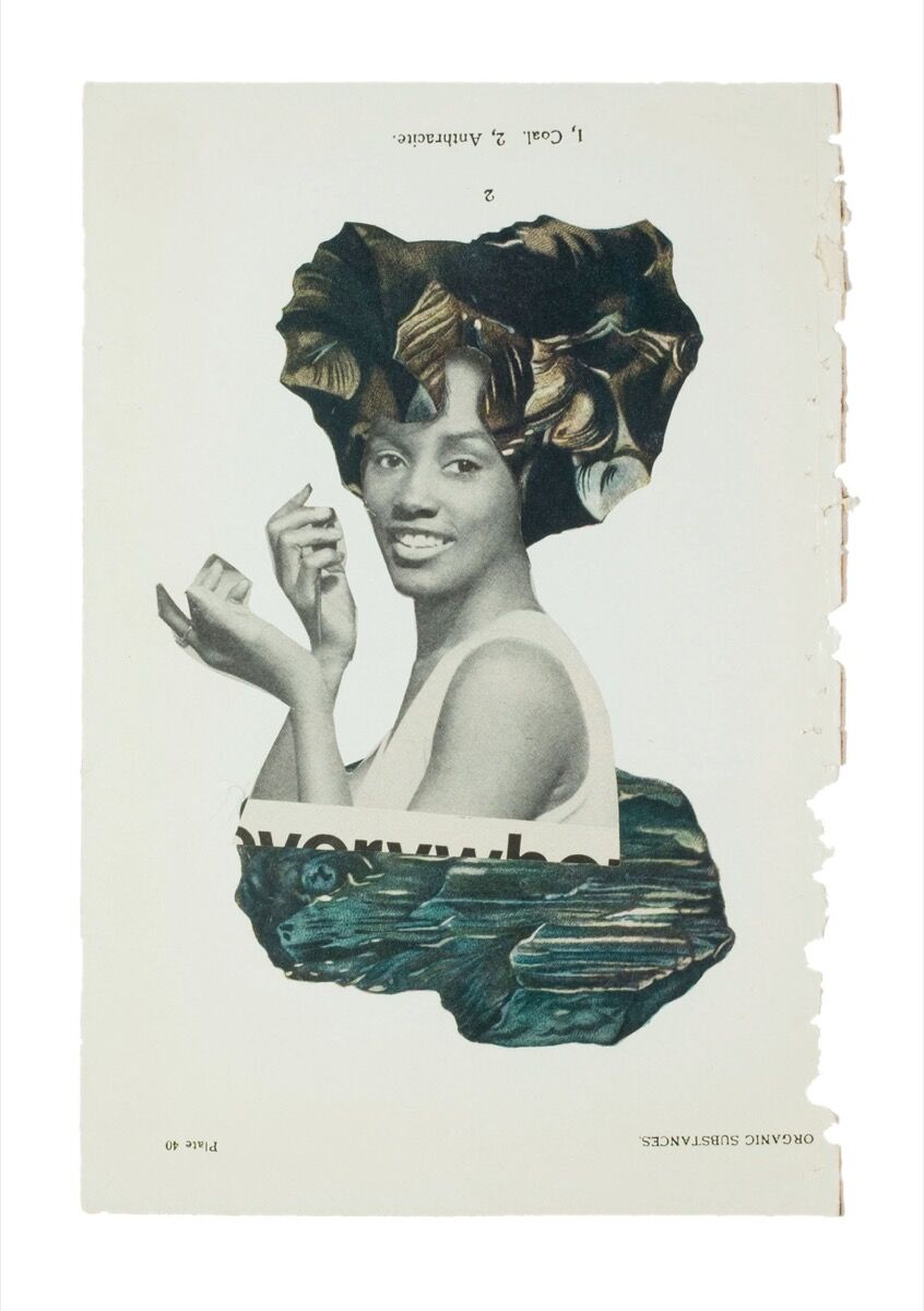 Lorna Simpson, Earth & Sky, #17, 2016. Published by Chronicle Books, 2018.