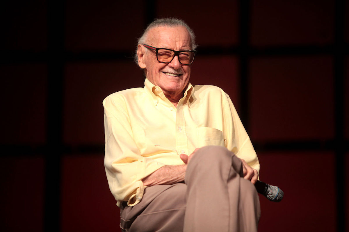 Stan Lee at Phoenix Comicon in 2014. Photo by Gage Skidmore, via Wikimedia Commons.