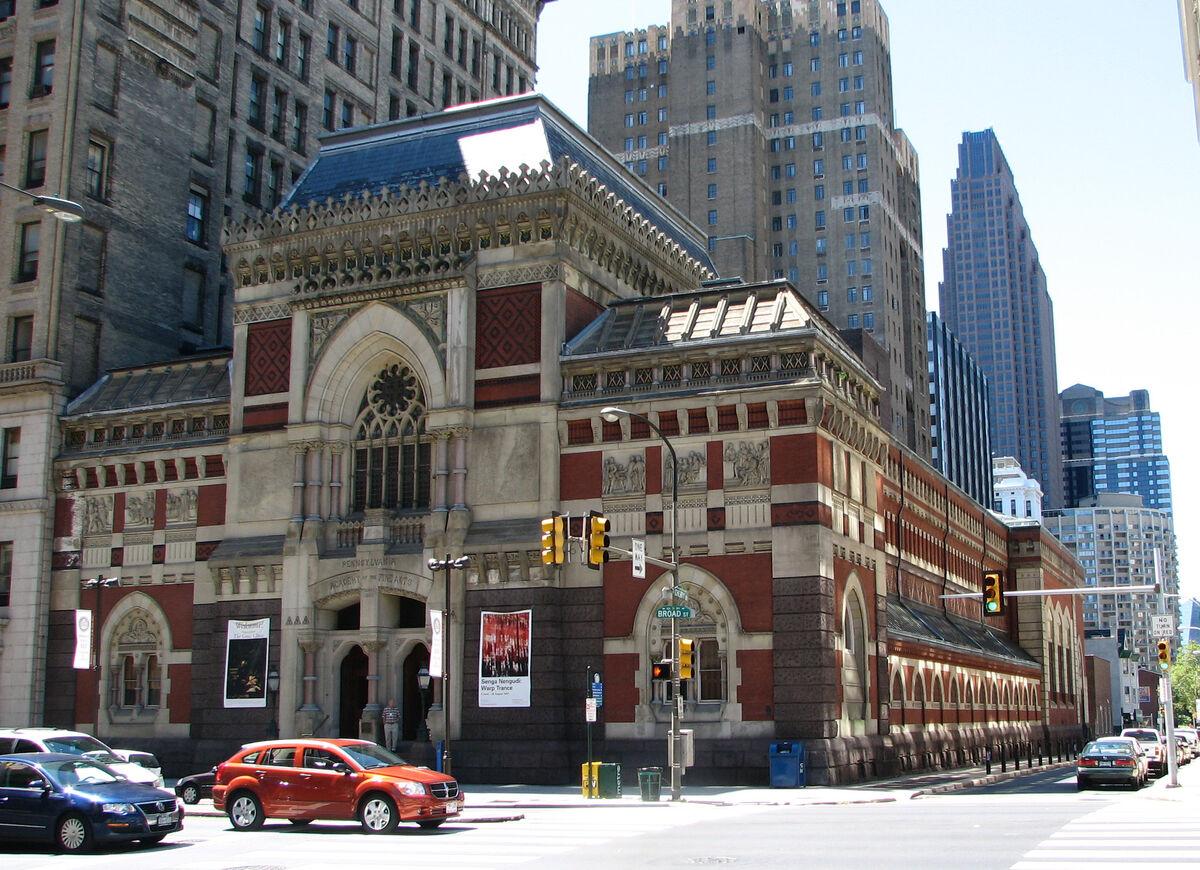 The Pennsylvania Academy of the Fine Arts. Image via Flickr.