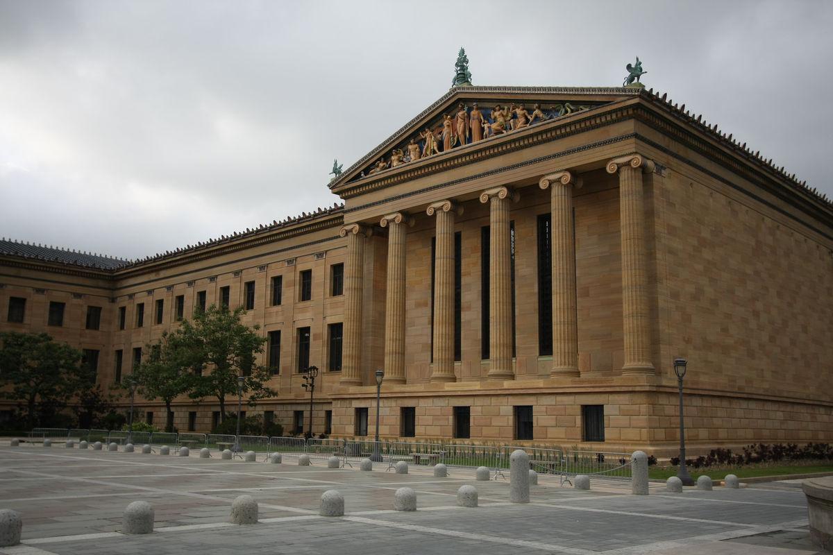 The Philadelphia Museum of Art. Image via Flickr.