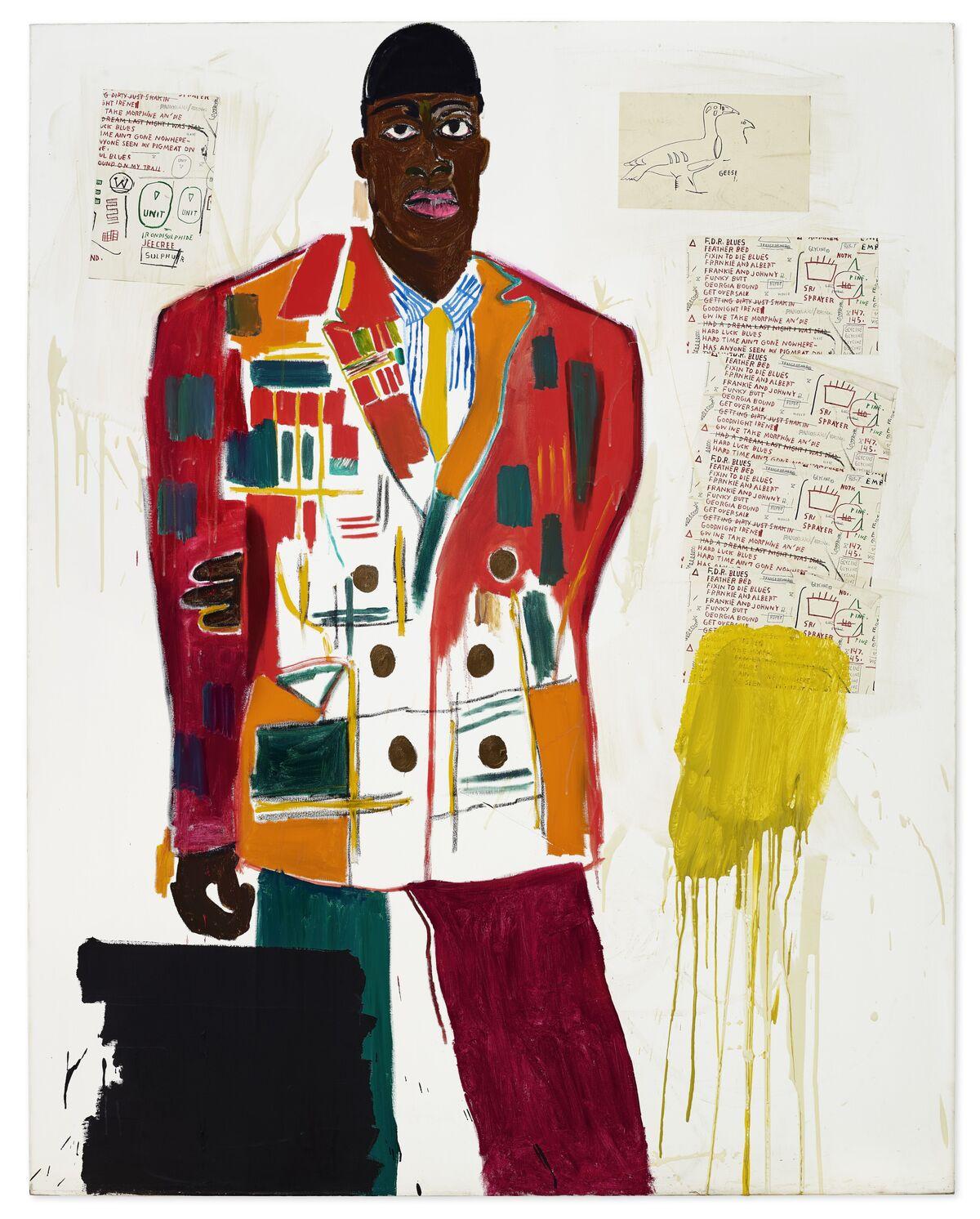 Jean-Michel Basquiat's MP, 1984. Courtesy Christie's Images Ltd. 2020.