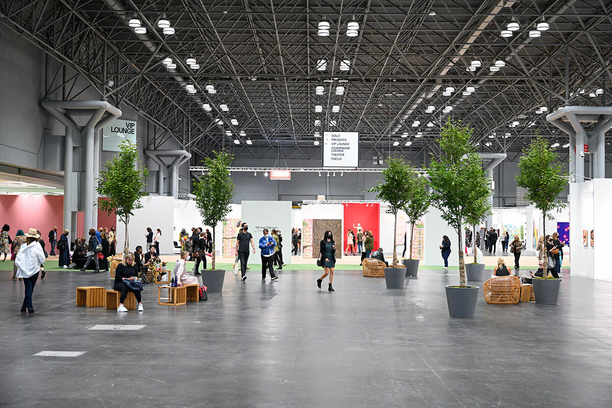 Installation view of The Armory Show, 2021. Photo by Casey Kelbaugh. Courtesy of The Armory Show.