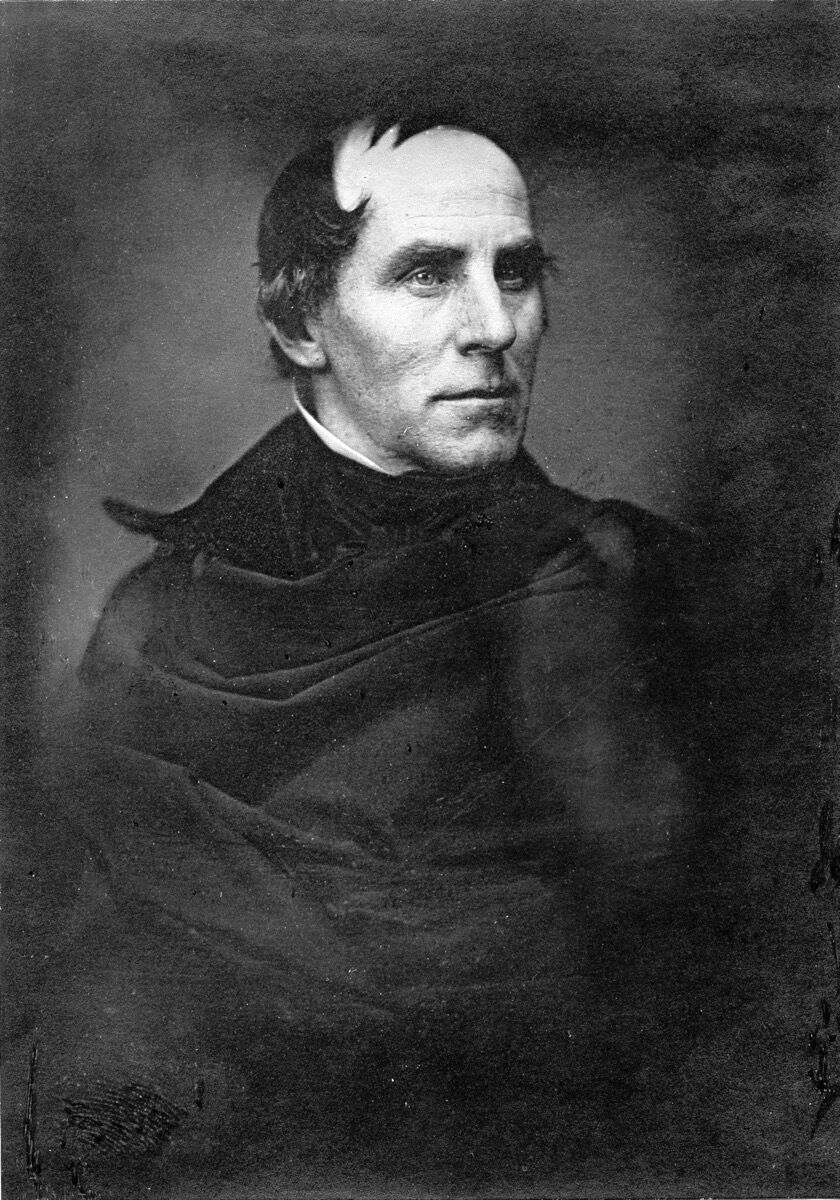 Portrait of Thomas Cole, 1845. Photo via Wikimedia Commons.