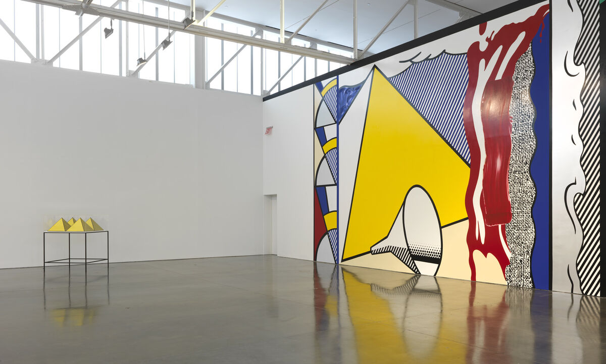 © Estate of Roy Lichtenstein. Photography by Rob McKeever. Courtesy Gagosian Gallery
