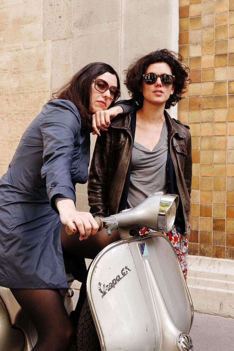 Isabelle Alfonsi & Cécilia Becanovic, directors of Marcelle Alix. Photo by Aurélien Mole for Marcelle Alix, courtesy of Marcelle Alix.