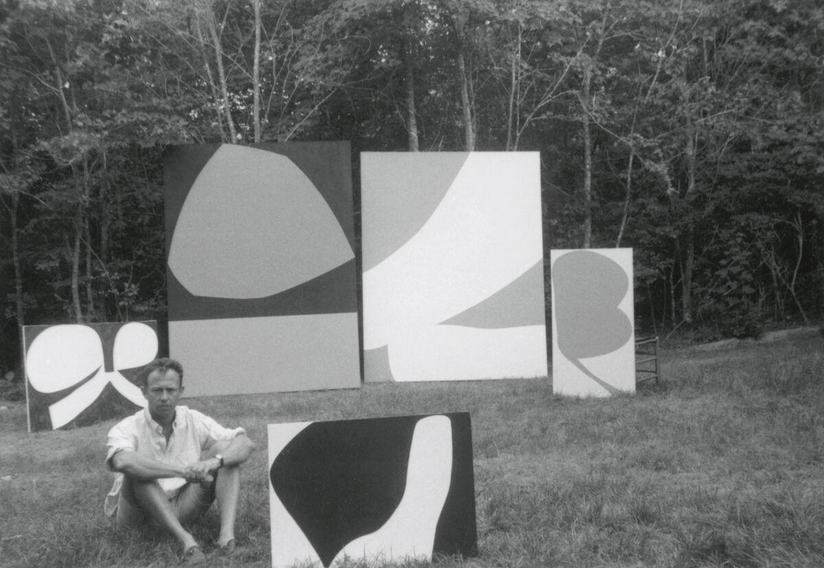 Ellsworth Kelly in East Hampton, Summer 1960. Courtesy of Matthew Marks Gallery.